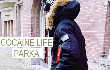 cocaine life zimna parka