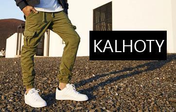 Pánské kalhoty kapsáče džíny antifit hip hop obchod