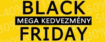 Black Friday Mega Kedvezmény