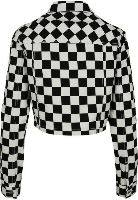 f37971f7ae915c Urban Classics Ladies Short Check Twill Jacket chess - Gangstagroup ...