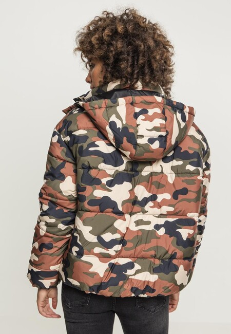 ... Urban Classics Ladies Boyfriend Camo Puffer Jacket rustycamo ... c08965661de