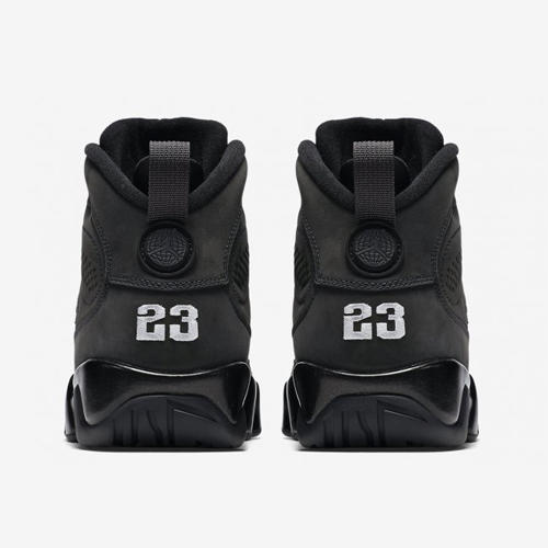 Air Jordan Retro 9 Anthracite Black/White Shoe