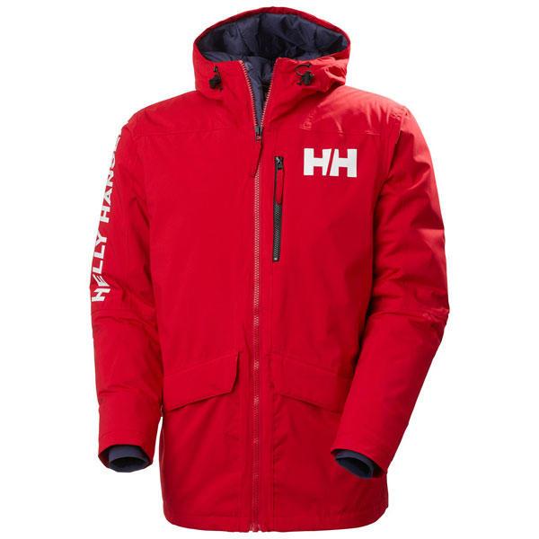 Helly Hansen Mens Active Fall 2 Parka Waterproof Windproof Jacket 27/% OFF RRP