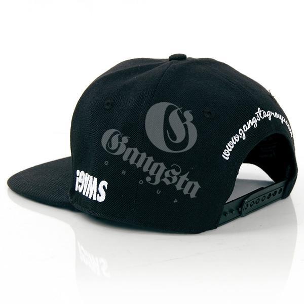 5fa1478bea0 Logo Snapback Cap Black GangstaGroup Basic Swag! Logo Snapback Cap Black ...