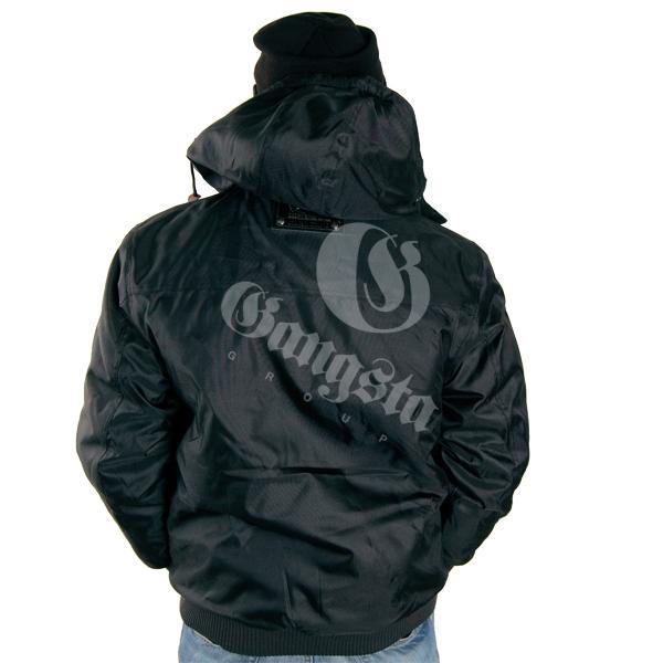 karl kani jacket two black hip hop shop gangstagroup. Black Bedroom Furniture Sets. Home Design Ideas