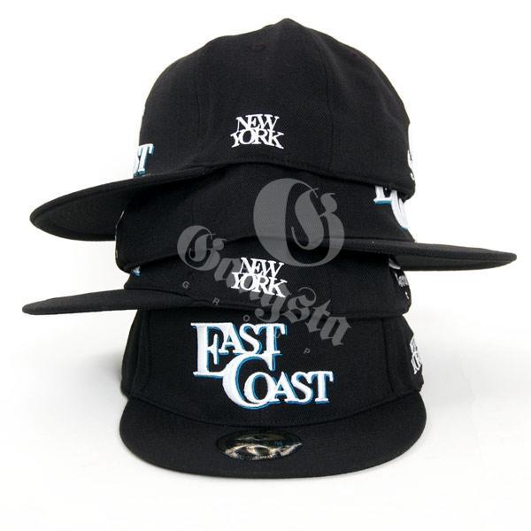 GangstaGroup East Coast Cap Black - Gangstagroup.com - Online Hip ... 22dc56e1250