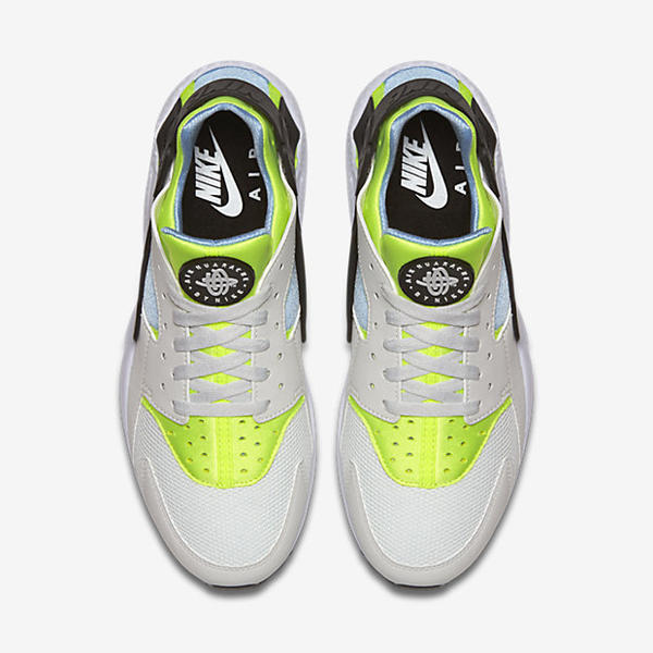 b8a67d3eb26f ... Nike Air Huarache Shoe Off White Barely Volt Bluecap 318429-107 ...