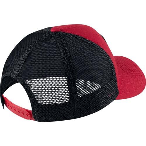 5582014d3af ... norway air jordan jumpman classic99 trucker cap red 0d855 d41bb