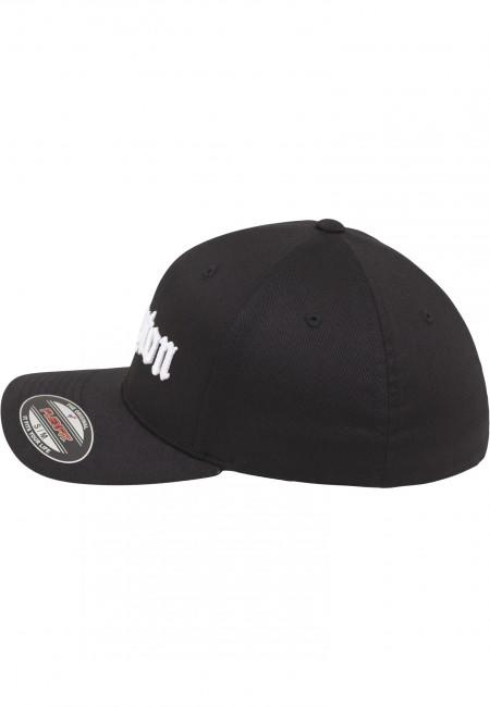 Mr. Tee Compton Flexfit Cap blk wht - Gangstagroup.com - Online Hip ... 7dbb999cd4