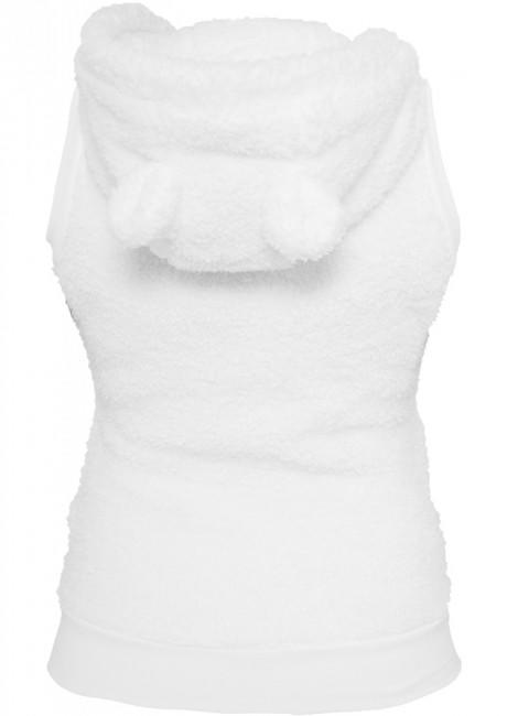 Urban Classics Ladies Teddy Vest white