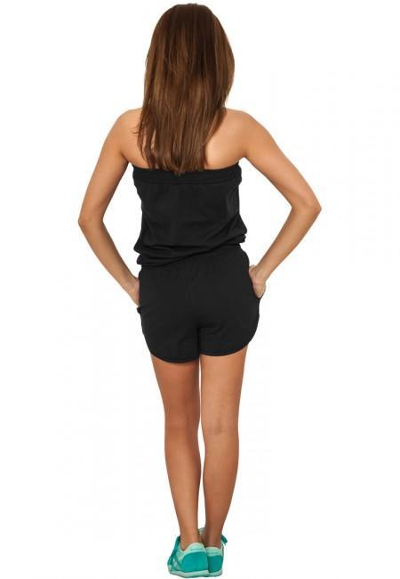 Urban Classics Ladies Hot Jumpsuit black