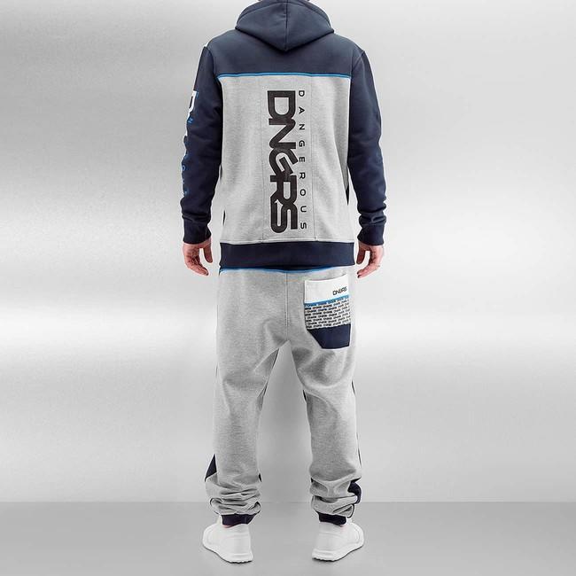 fdc951d4e7 Dangerous DNGRS Marne Sweat Suit Blue/Grey - Gangstagroup.com ...