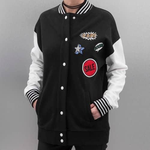 Bangastic Laili College Jacket Black - Gangstagroup.com - Online Hip ... 45afe9e653