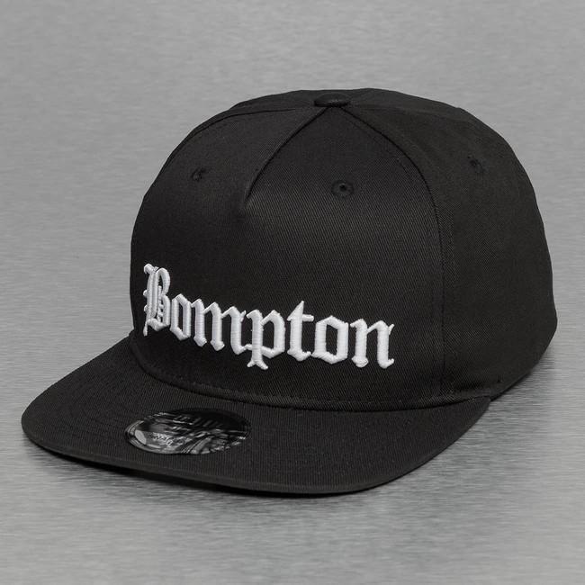 886e41e0536b5 Thug Life Bompton Snapback Cap Black - Gangstagroup.com - Online Hip ...