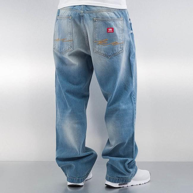 mai bine online aici o noua sosire Ecko Unltd. Fat Bro Baggy Jeans Light Blue - Gangstagroup.com - Online Hip  Hop Fashion Store