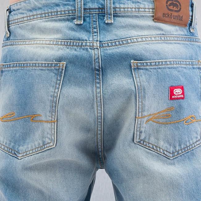 Ecko Unltd Hang Loose Fit Jeans Blue Gangstagroup Com Online Hip Hop Fashion Store