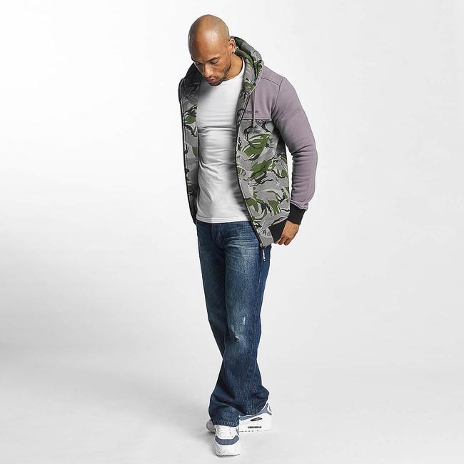 Thug Life Zip Hoodie THGLFE in white | Shop Online