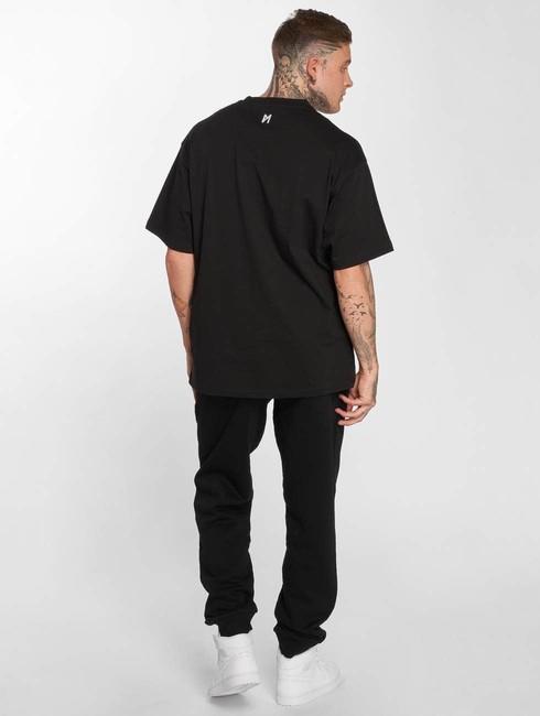 maskulin t shirt ghetto sport in black online hip hop fashion store. Black Bedroom Furniture Sets. Home Design Ideas