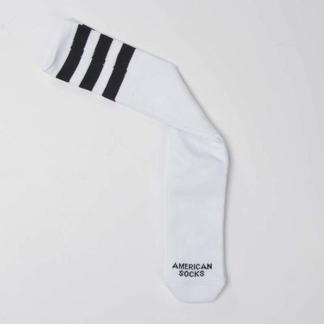 f88dc5272e2 ... American Socks Old School - Knee High white   black - black - black ...