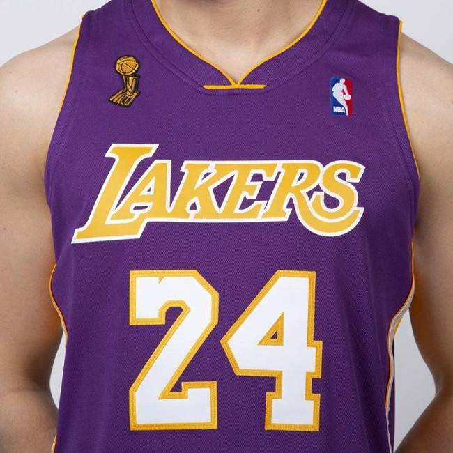 watch 90dd4 fd6e1 Jersey Mitchell & Ness Los Angeles Lakers #24 Kobe Bryant ...
