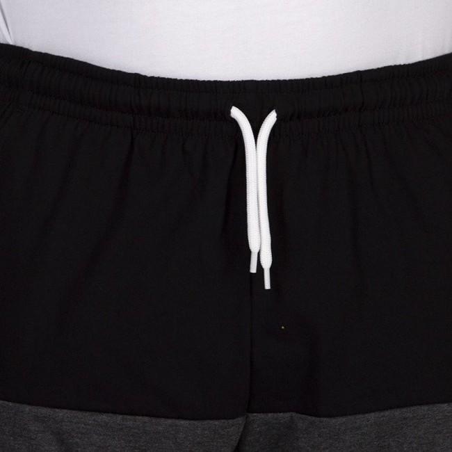 Mass Denim Separate Sweatshorts black / dark heather grey