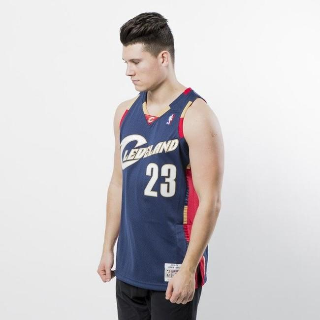timeless design b50a6 37725 Mitchell & Ness Seattle Cleveland Cavaliers #23 Lebron James ...