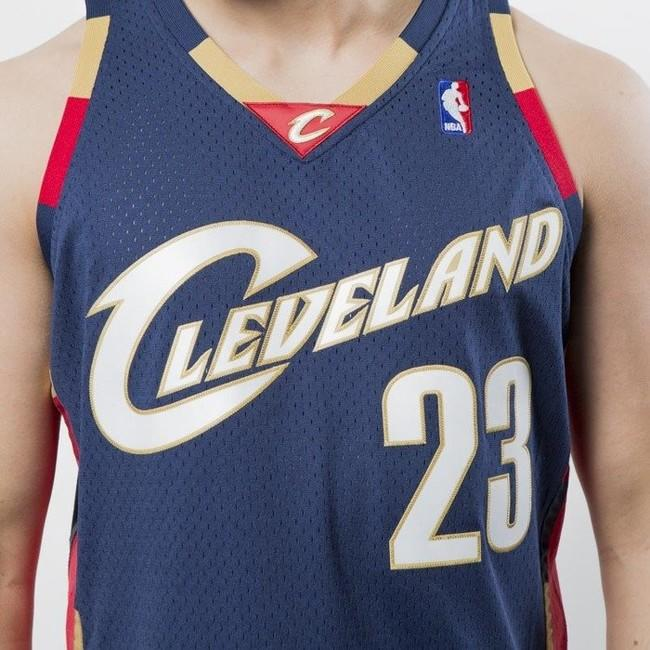 timeless design 45238 87745 Mitchell & Ness Seattle Cleveland Cavaliers #23 Lebron James ...