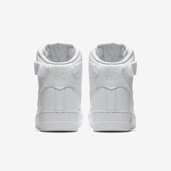 the latest f25d9 330d0 ... WHITE NIKE AIR FORCE 1 HIGH 08 LE WOMEN S SHOE ...