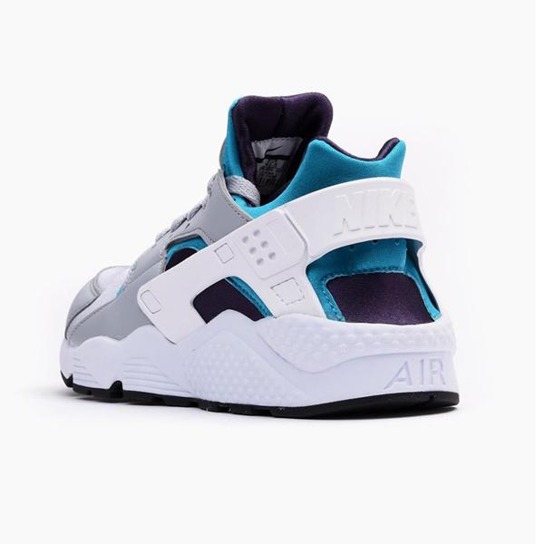 815b5d14cff1 ... Nike Air Huarache Shoe Wolf Grey White Aquatone Dynasty 318429-024 ...