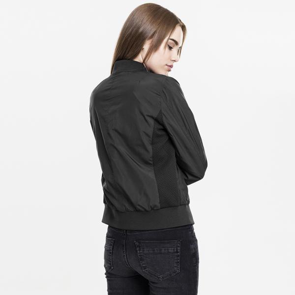 33ffb13b7 Urban Classics Ladies Light Bomber Jacket black - Gangstagroup.com ...