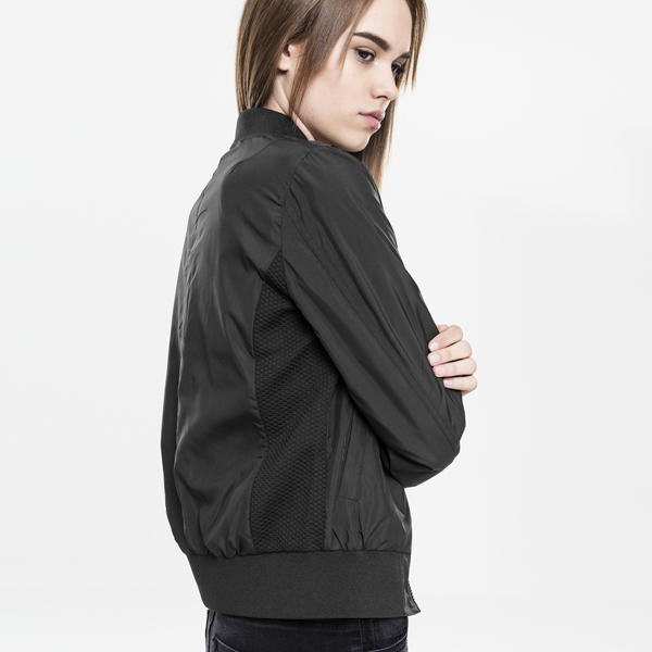 Urban Classics Ladies Light Bomber Jacket black - Gangstagroup.com ... 49e4f88a49