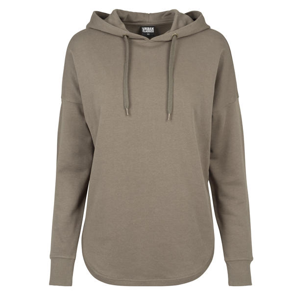 URBAN CLASSICS Ladies oversized Terry Hoody tb1308 Charcoal