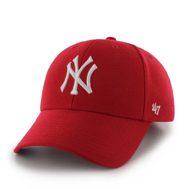 47 Brand MVP NY Yankees Red White