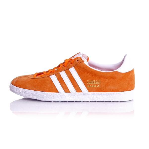 adidas gazelle og b orange white s74848 online hip hop fashion store. Black Bedroom Furniture Sets. Home Design Ideas