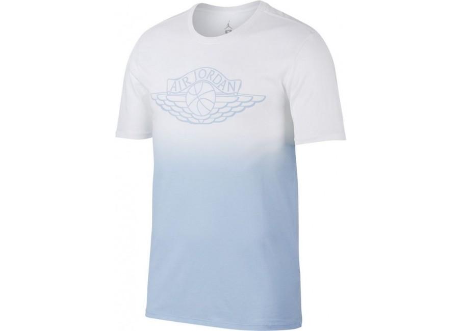 8e9aa3dd293581 Air Jordan Fadeaway Faded T-Shirt White Blue 843138-100 ...