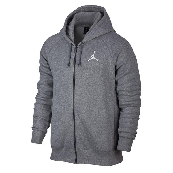 air jordan retro 4 flight full-zip hoodie sweatshirt