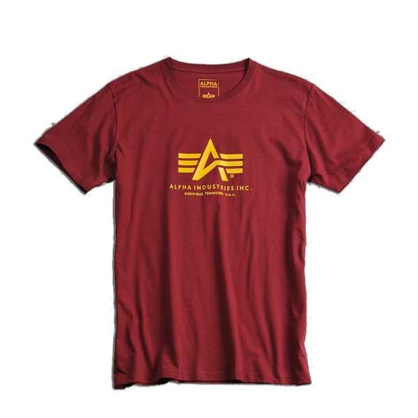 Basic T-Shirt Burgundy - 3XL