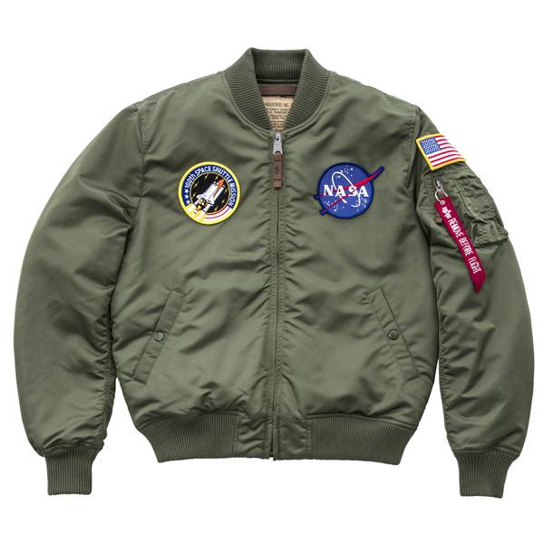 MA-1 VF NASA Sage Green - 2XL