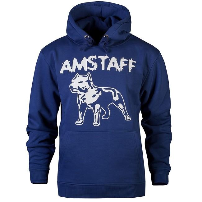 Amstaff Logo Hoody Navy