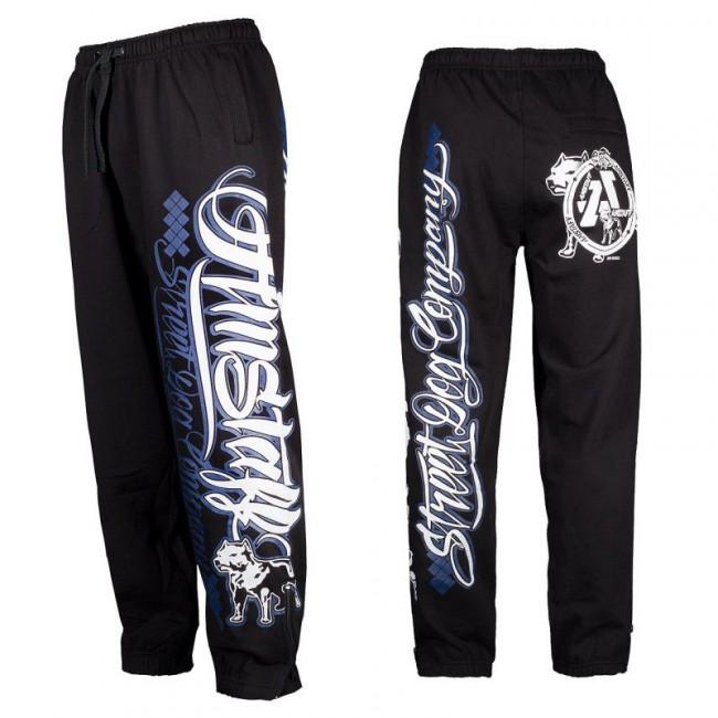Zeru Sweatpants Black Royal - 3XL