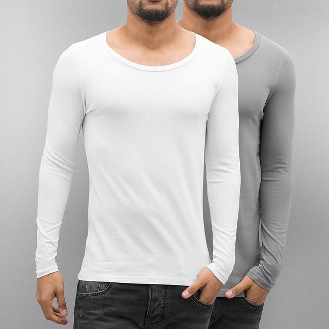 Bangastic 2-Pack Long Sleeve White Grey - Gangstagroup.com - Online ... ae1fe98f85