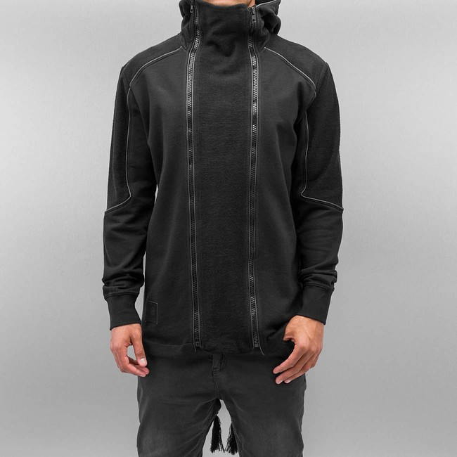 Bangastic Doppel Zip Jacket Black - Gangstagroup.com - Online Hip ... a0d35083fb