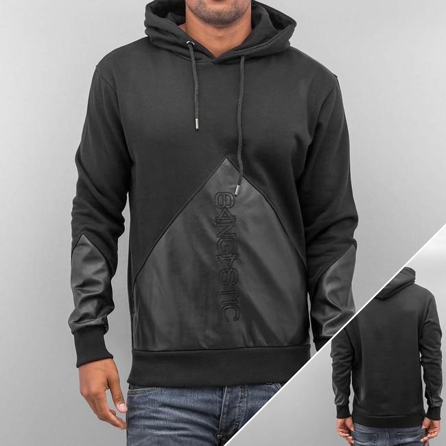 Bangastic Logo PU Hoody Black - Gangstagroup.com - Online Hip Hop ... 57afaf9d07