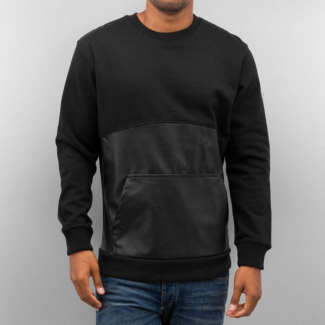 Bangastic PU Leather Sweater Black - Gangstagroup.com - Online Hip ... 1c5c7b9184