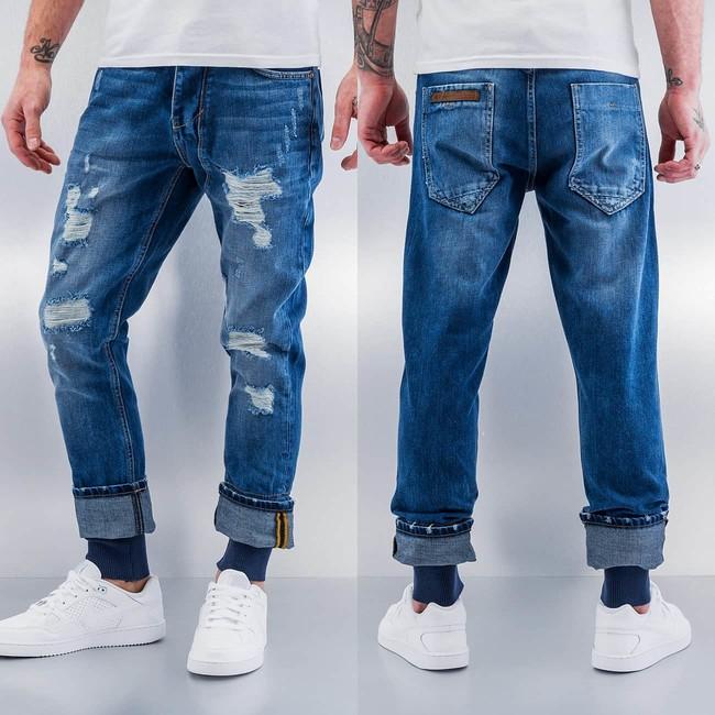 Bangastic Rib Antifit Jeans Blue - Gangstagroup.com - Online Hip Hop ... 3af699ee91