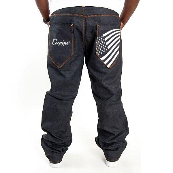 Stars & Stripes Jeans Raw Denim - 38