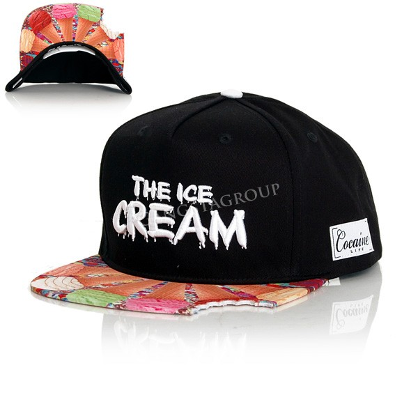 The Ice Cream Snapback Black - UNI