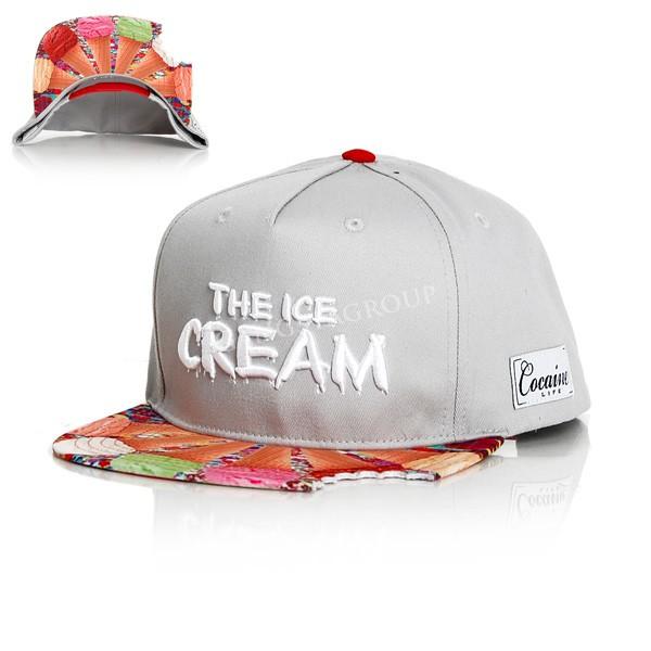 The Ice Cream Snapback Grey - UNI