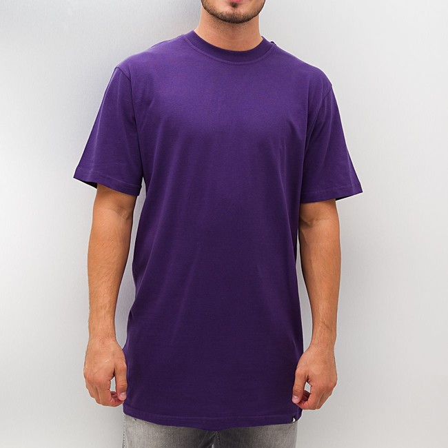 Dangerous dngrs blank tall tee purple for Hip hop t shirts big and tall
