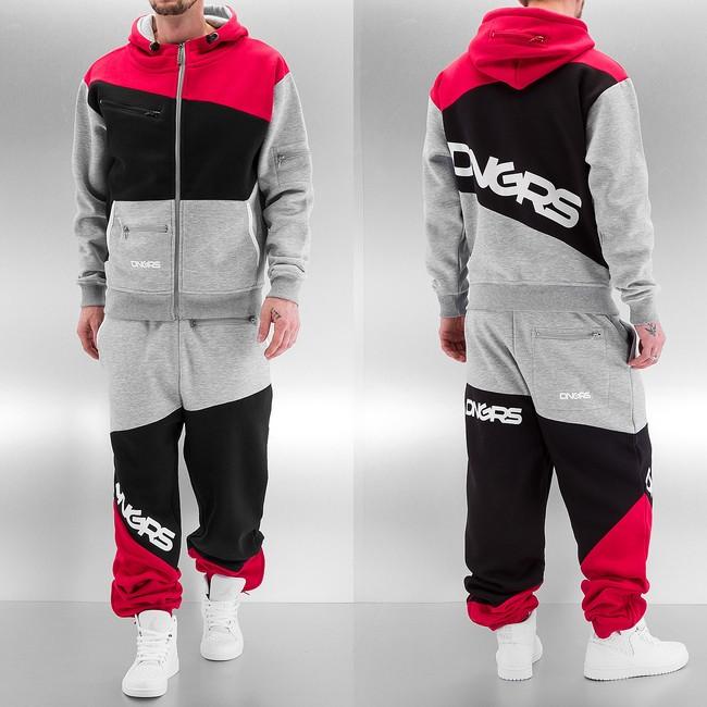 fce0972df8 Dangerous DNGRS Sweat Suit Grey/Black/Red - Gangstagroup.com ...